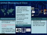 unified messaging at cisco