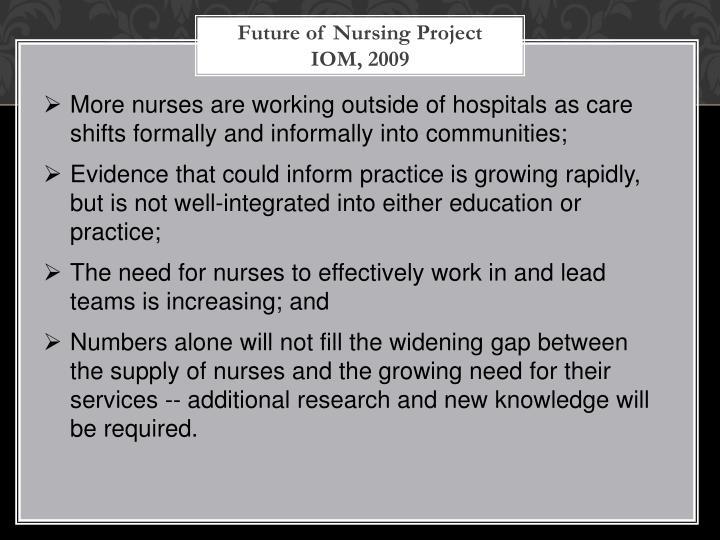 Future of Nursing Project
