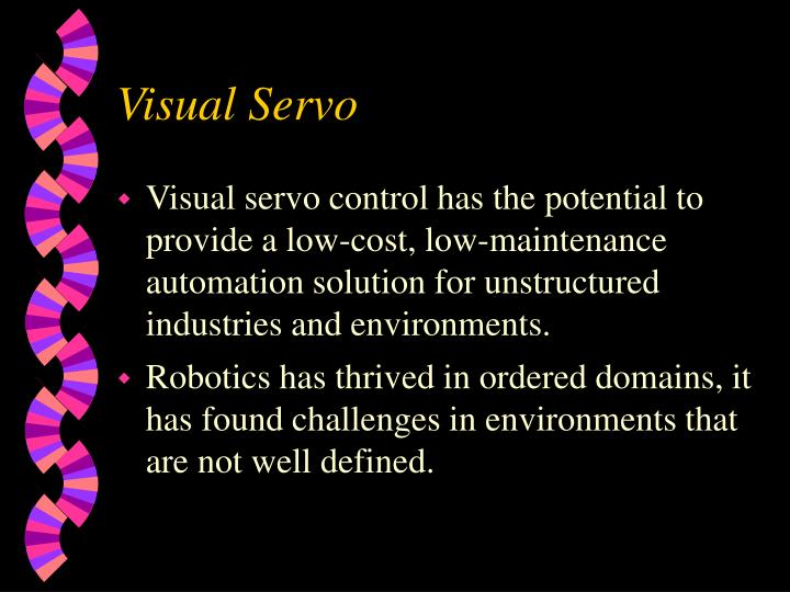 Visual servo