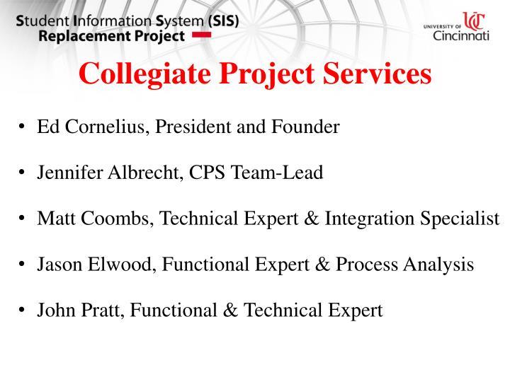 Collegiate Project Services