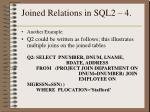 joined relations in sql2 4