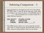 substring comparison 3