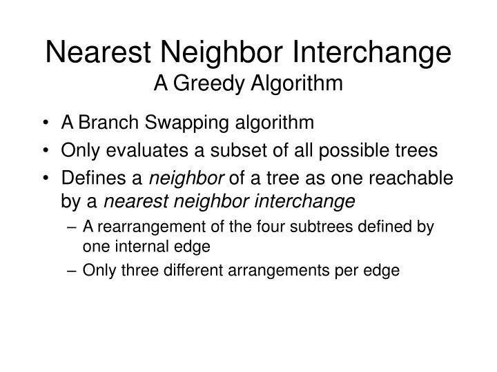 Nearest Neighbor Interchange