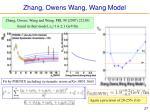 zhang owens wang wang model