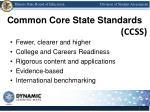common core state standards
