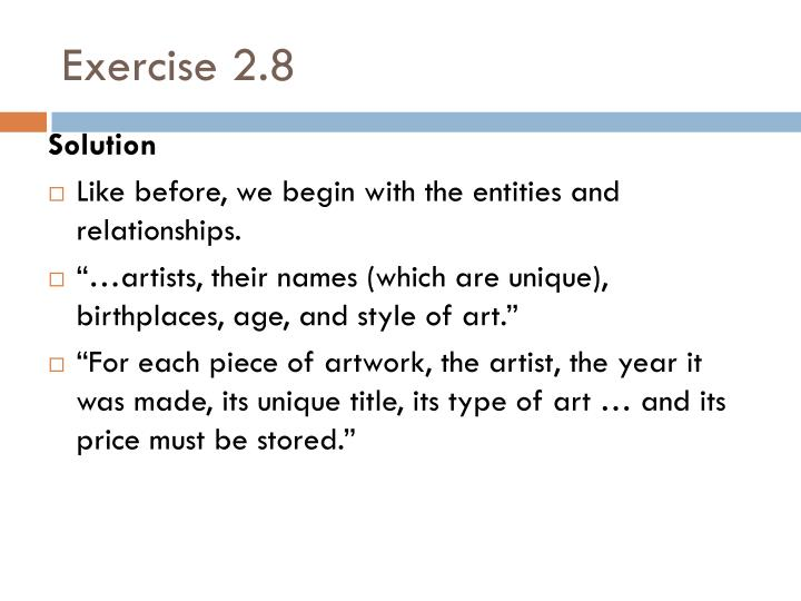 Exercise 2.8