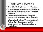 eight core essentials1