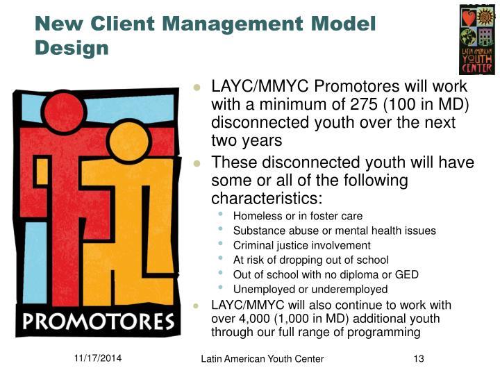 New Client Management Model Design