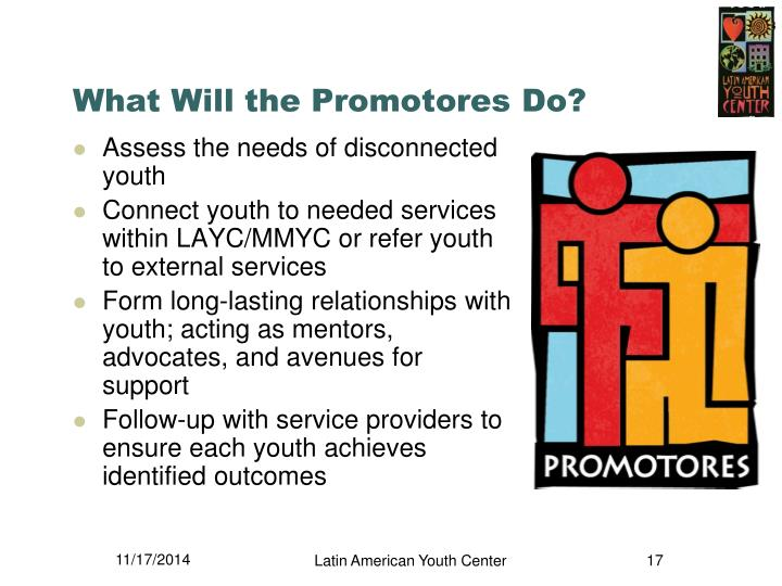 What Will the Promotores Do?