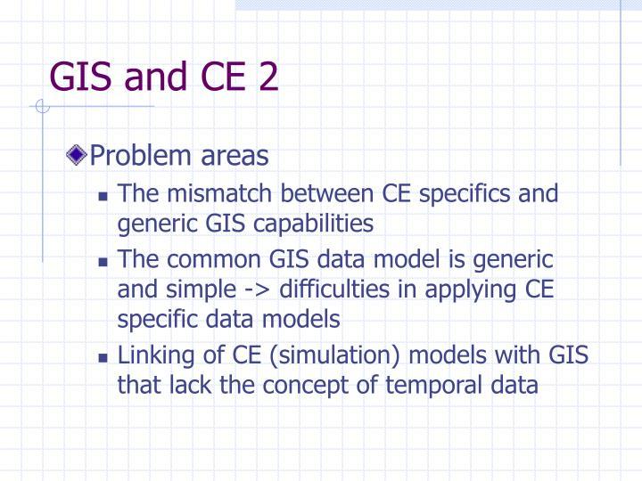 GIS and CE 2