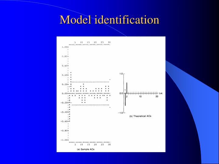 Model identification