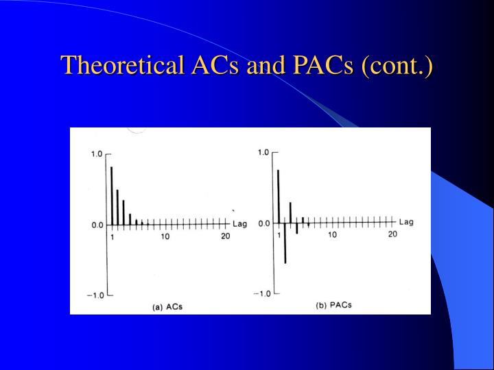 Theoretical ACs and PACs (cont.)