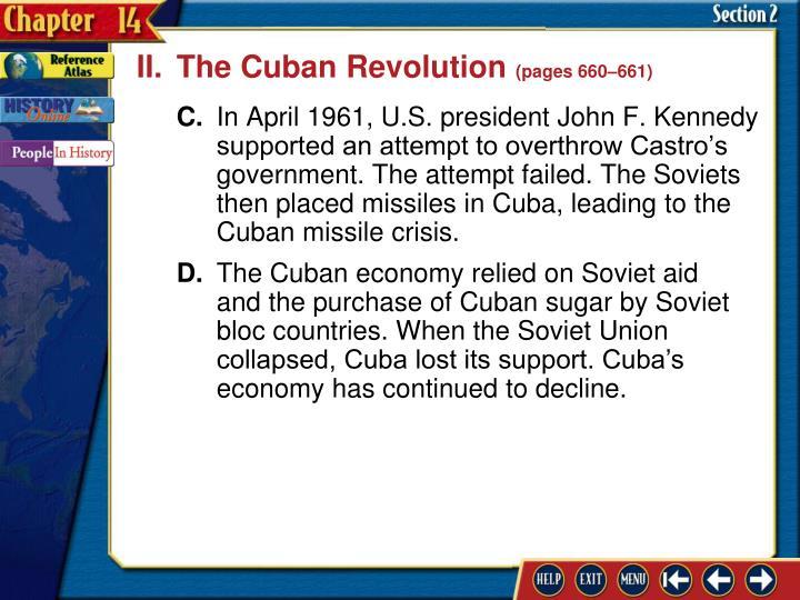 II.The Cuban Revolution