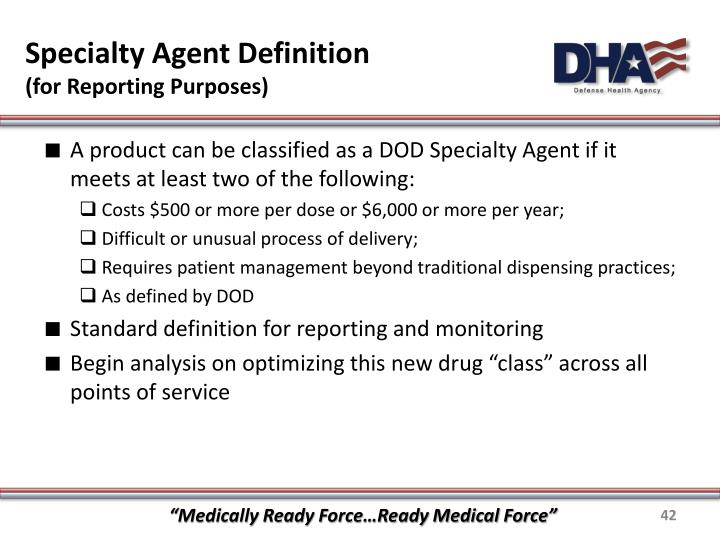 Specialty Agent Definition