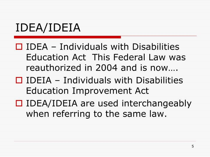 IDEA/IDEIA