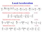 local acceleration1