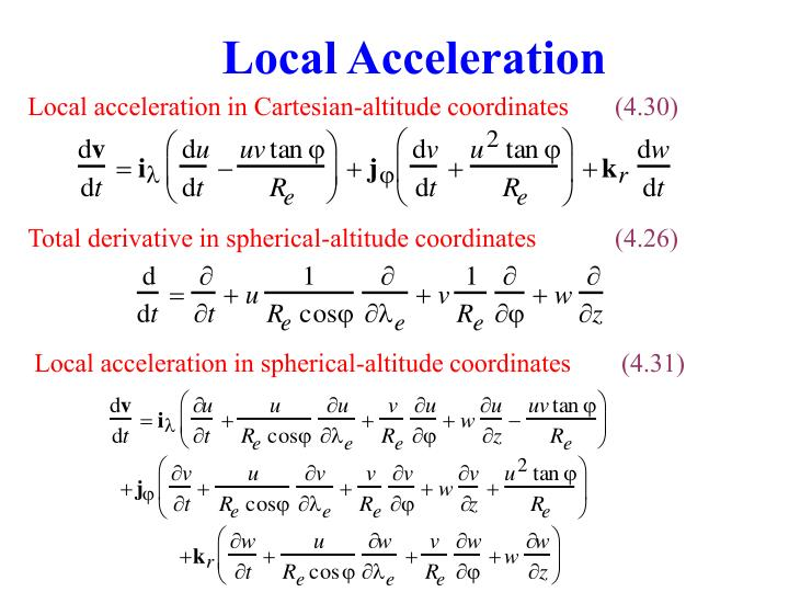 Local Acceleration