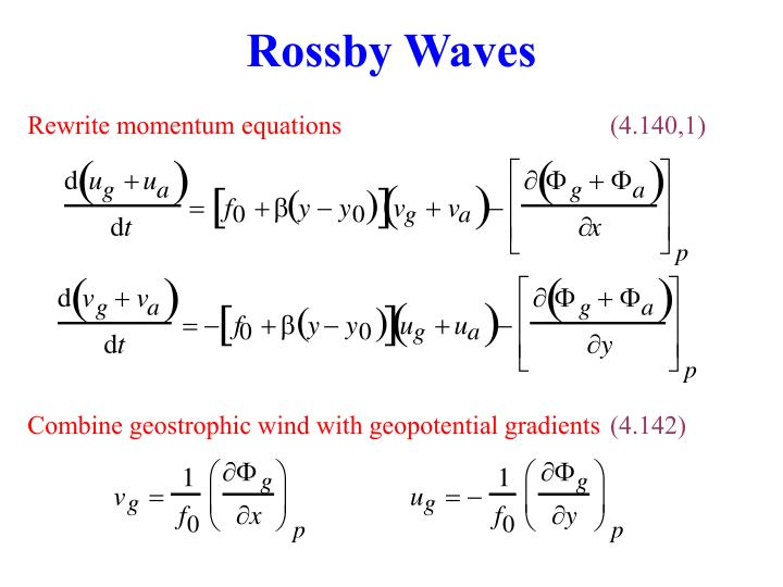 Rossby Waves