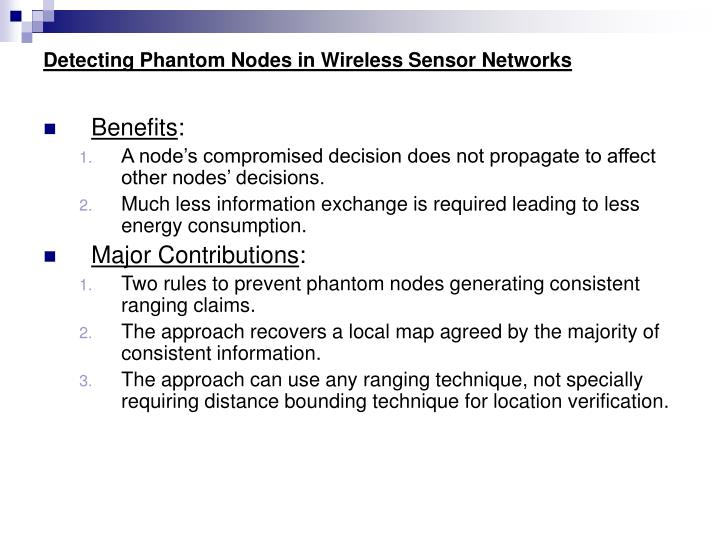 Detecting phantom nodes in wireless sensor networks2