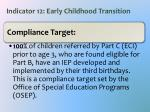 indicator 12 early childhood transition1