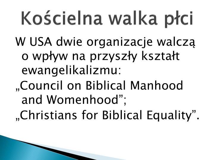Kościelna walka płci