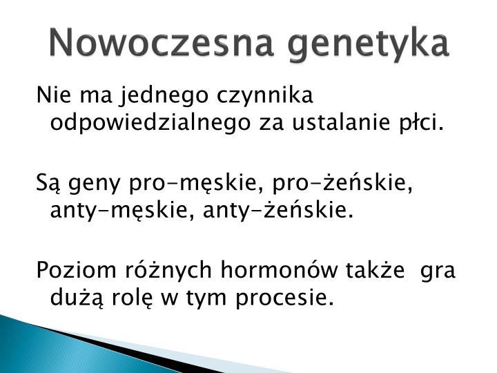 Nowoczesna genetyka