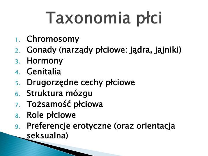Taxonomia płci