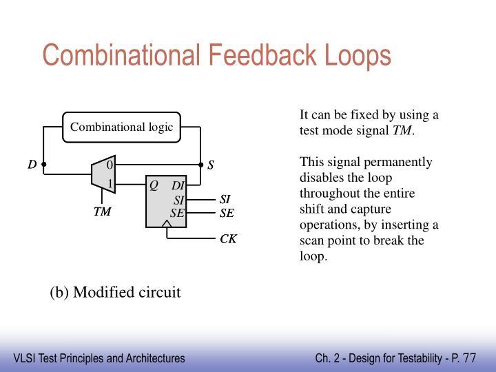 Combinational Feedback Loops