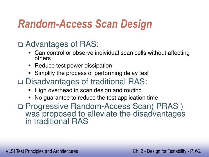 Random-Access Scan Design