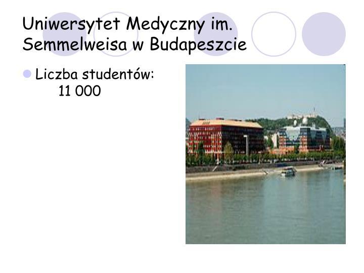 Uniwersytet Medyczny im. Semmelweisa w Budapeszcie