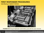 first responder procedures identifying a hybrid vehicle3