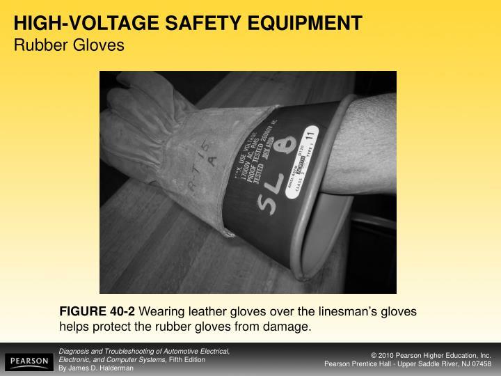 HIGH-VOLTAGE SAFETY EQUIPMENT