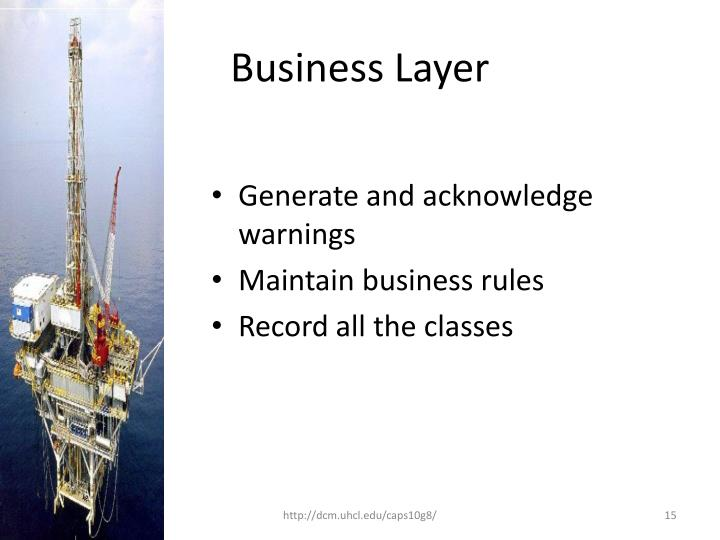 Business Layer