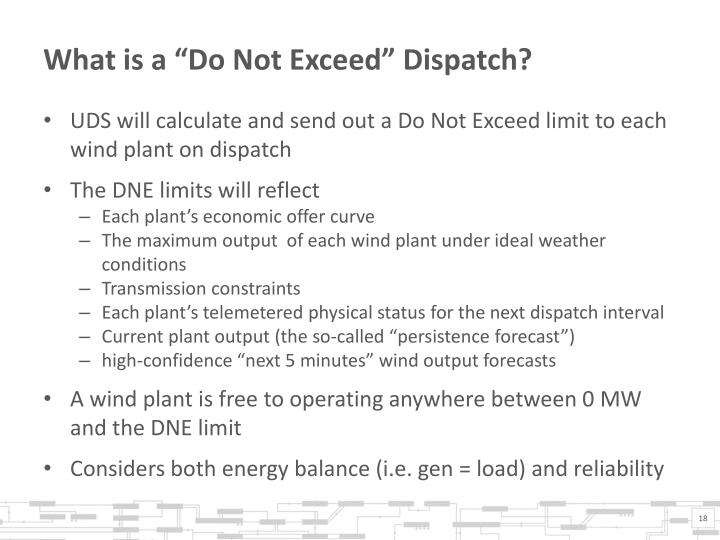 "What is a ""Do Not Exceed"" Dispatch?"