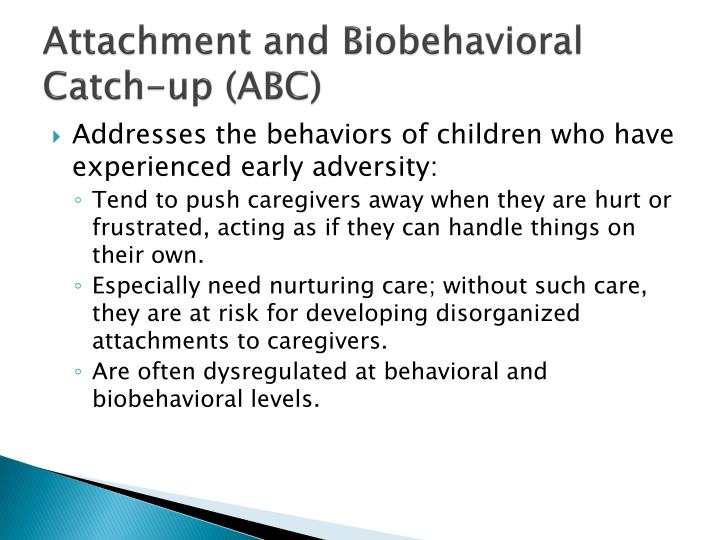 Attachment and