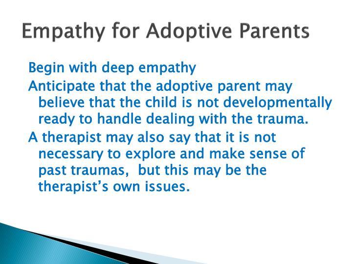 Empathy for Adoptive Parents