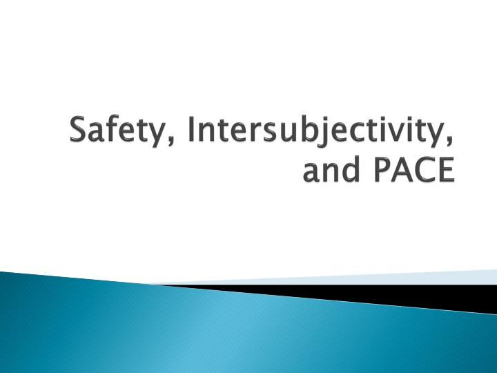 Safety,
