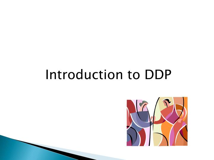 Introduction to DDP