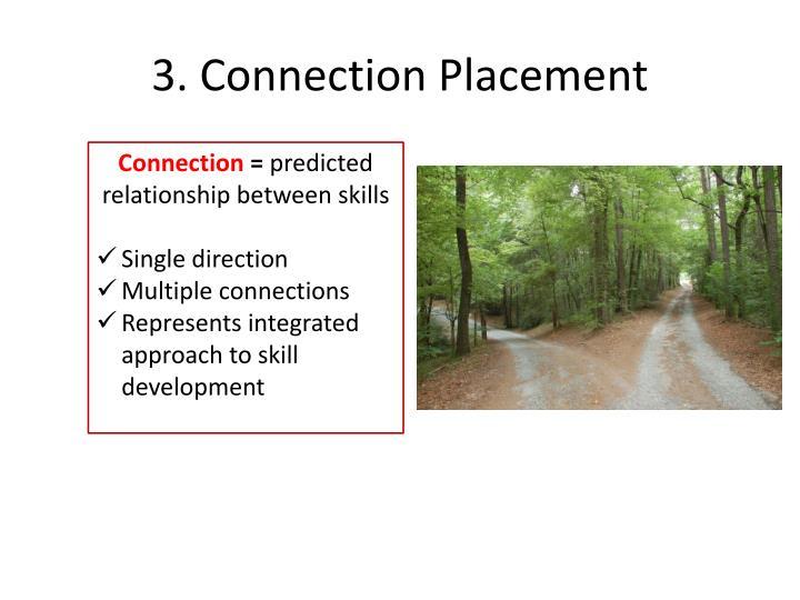 3. Connection Placement