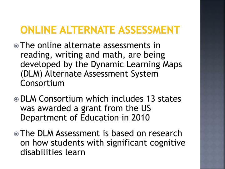 Online Alternate Assessment