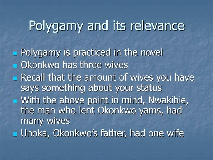Polygamy and its relevance