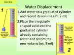 water displacement1