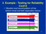 3 example testing for reliability cont d4