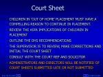 court sheet1