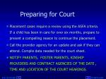 preparing for court1