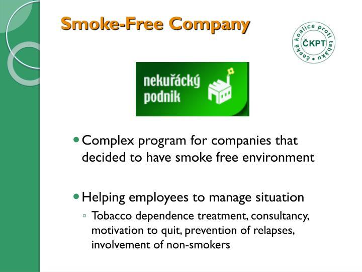 Smoke-Free Company