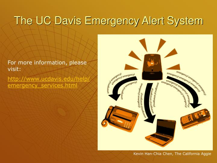 The UC Davis Emergency Alert System