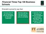 financial times top 100 business schools