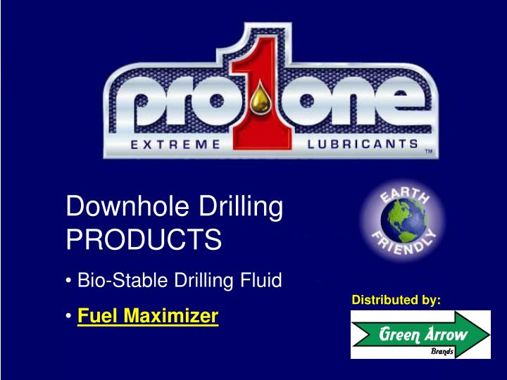 Downhole Drilling PRODUCTS