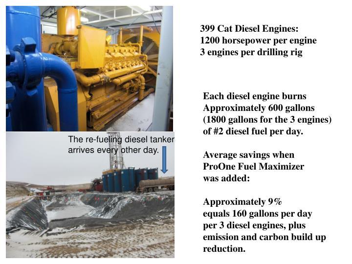 399 Cat Diesel Engines: